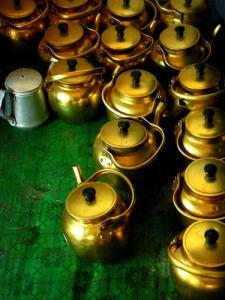 丝绸之路上,喝茶是生活中不可或缺的一部分。(图源:友情提供,Agustinus Wibowo)